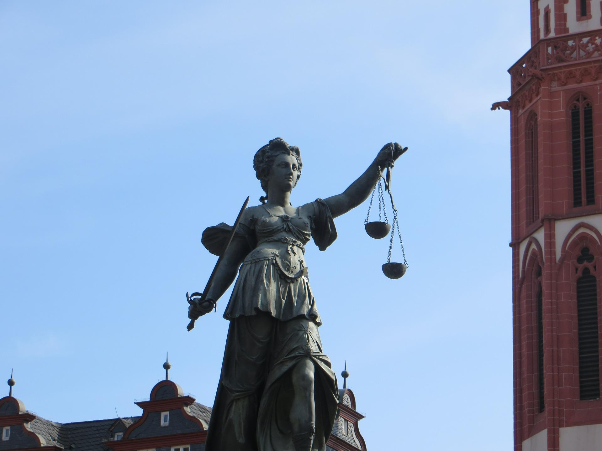 Gerechtigkeit Justizia